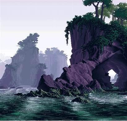 Landscape Pixel Imgur Fantasy Bit 8bit Environment