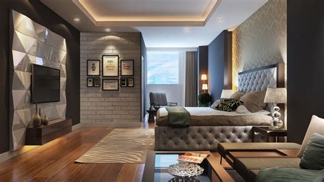 Room Styles Bedroom by Bedroom In The Modern Style Design Ideas