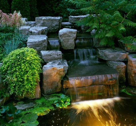 waterfall designs waterfall landscaping waterfalls