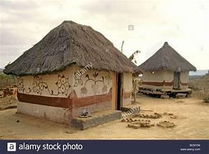 Zimbabwe Traditional House Stock Photo Royalty Free Image