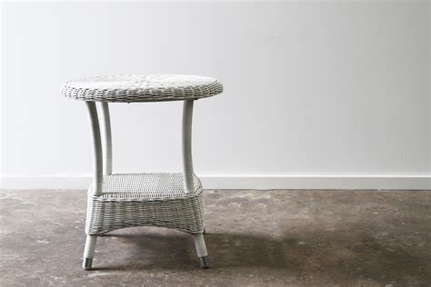 white washed table ls hshire side table white wash ls rattan commercial