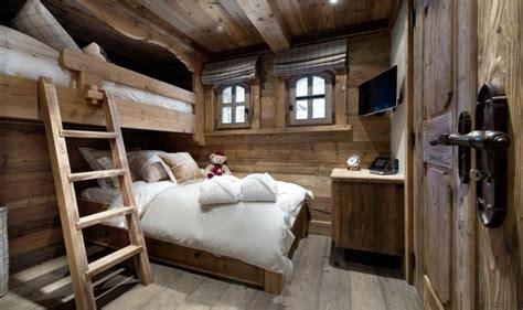 deco chambre chalet décoration intérieur chalet montagne 50 idées inspirantes