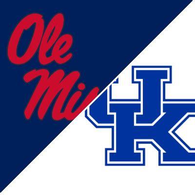 Ole Miss vs. Kentucky - Game Recap - October 3, 2020 - ESPN