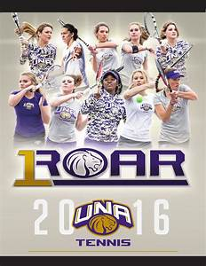 2016 UNA Women's Tennis Records by University of North ...