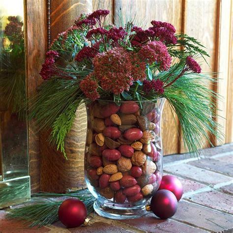 christmas greenery ideas  pinterest natural
