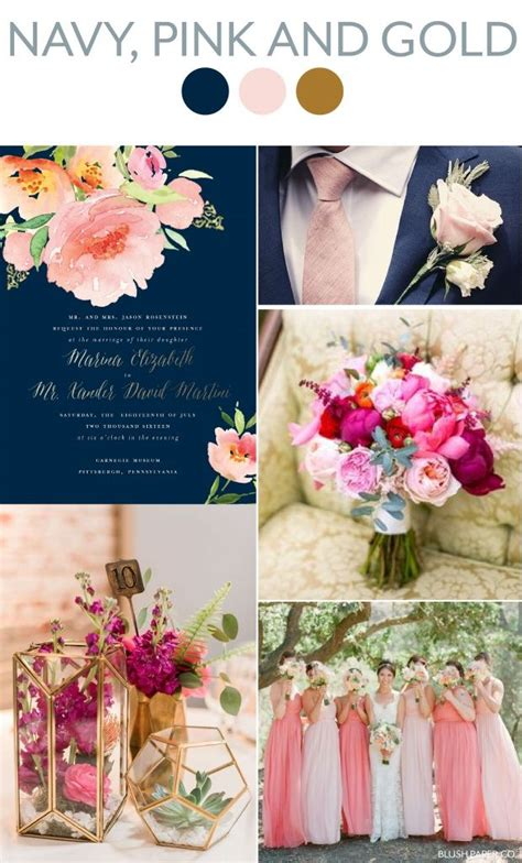 Summer 2017 wedding trends and colors Gold wedding theme