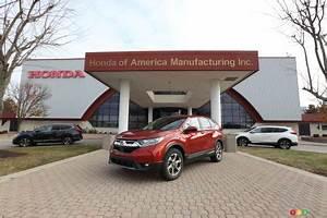 Essai Honda Cr V 2017 : le honda cr v 2017 entre l usine un essai lire bient t actualit s automobile auto123 ~ Medecine-chirurgie-esthetiques.com Avis de Voitures