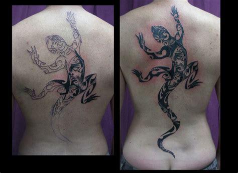 Lézard Polynésien Tattoospiritprod