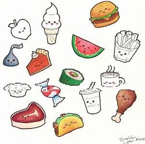 Dibujos kawaii tiernos - Imagui