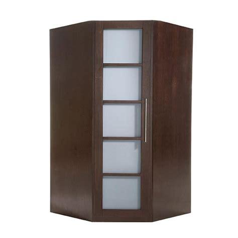 d馗or de chambre armoire d 39 angle ontario wengé achat vente armoire de chambre armoire d 39 angle ontario cdiscount