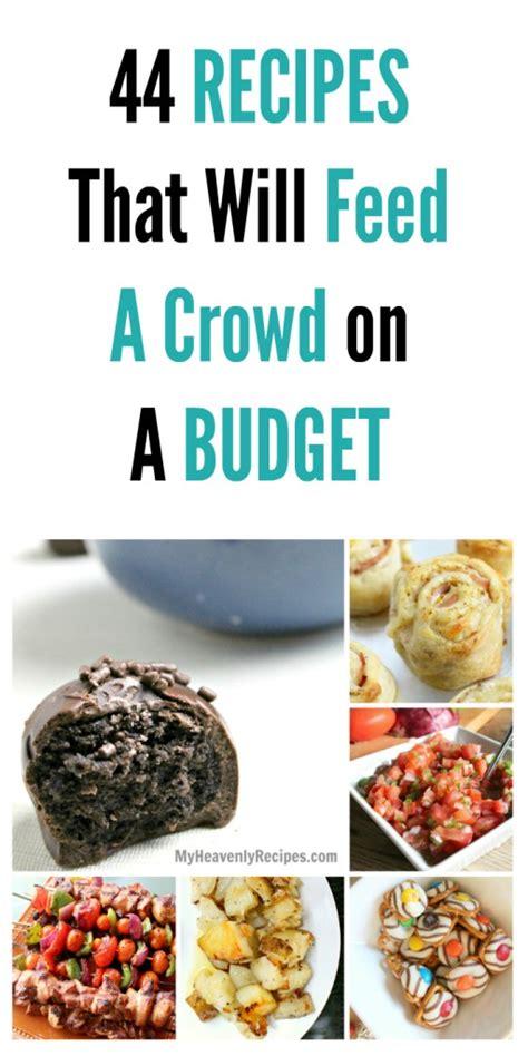 recipes   feed  crowd   budget