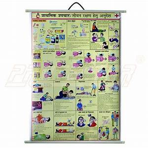 Safety Chart For First Aid Essentials Hindi प र थम क