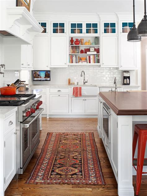 White Kitchen Makeover  Hgtv