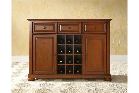Wine Sideboard by Alexandria Buffet Server Sideboard Cabinet With Wine