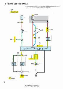 1999 Toyota Avalon Electrical Wiring Diagram Repair