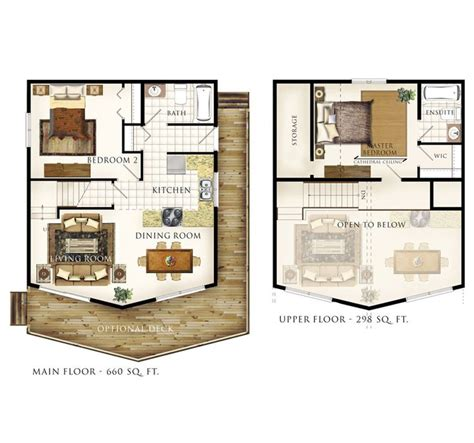 small house plans with loft bedroom another cabin idea except turn the master bedroom into 20867   f10e774490501ee3c6160204f83f163b
