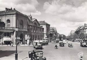 Autoroute Rennes Paris : la gare de montparnasse et la place de rennes vers 1930 paris 6 me 15 me paris 6 me d 39 antan ~ Medecine-chirurgie-esthetiques.com Avis de Voitures