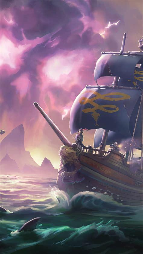 wallpaper sea  thieves    screenshot games