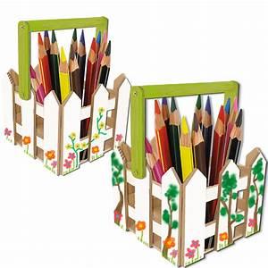 Pot A Crayon : pot crayons champ tre pot crayons t te modeler ~ Teatrodelosmanantiales.com Idées de Décoration