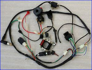 Honda 110 Atv Wiring Harnes For by Complete Electrics Atv Stator 50cc 70cc 110cc 125cc Cdi
