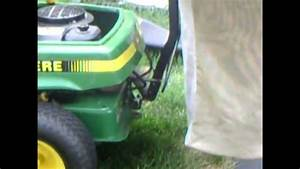 How To Install A Bagger On Your John Deere Srx75 Or Other