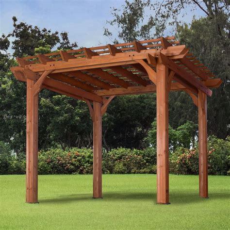 Cheap Kitchen Ideas - pergola gazebo canopy 10x10 outdoor garden patio backyard deck lawn furniture ebay
