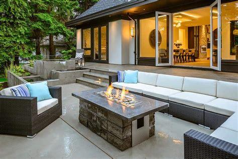 modern fire pits   ignite  style