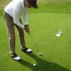 Putt Out Golf Practice Putting Training Aid Pressure