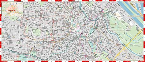 detailed printable high quality road guide street names
