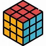 Rubik Icon Cube Icons Blocks Svg Shapes