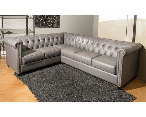 sectional sofas made in usa made tufted leather sectional dominion