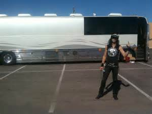 Rock Band Tour Bus