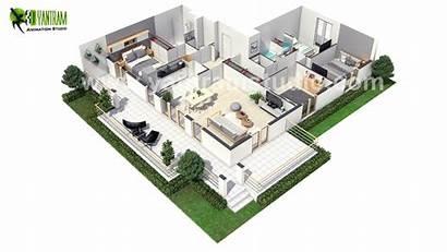 Plan 3d Floor European Paris Modern Virtual