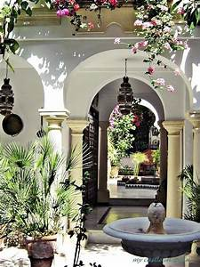 Spanish Patio Photo Via My Castle In Spain  When It U0026 39 S Very