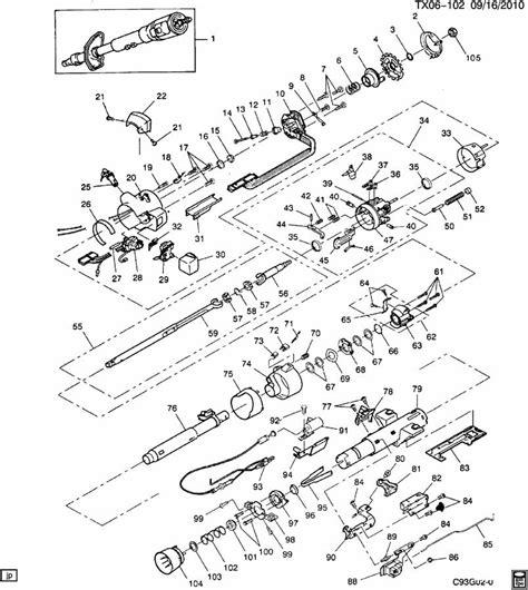 Chevrolet Spring Steering Column Transmission