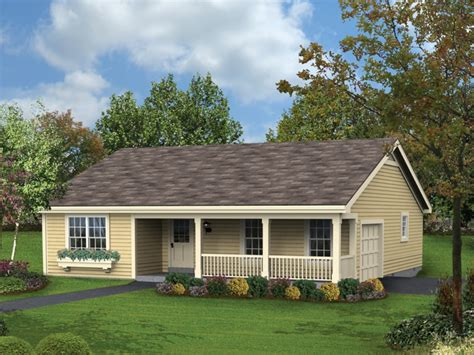 Affordable Ranch House Plans Single Story With Porches