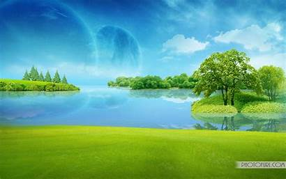 Water Animated Desktop Moving Backgrounds Wallpapers Mountain
