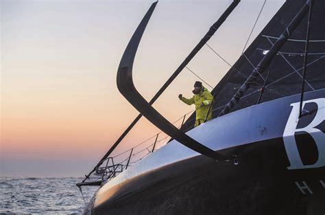 sailing vendee globe  hugo boss vg finish yachts