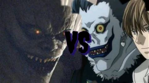 death note anime vs filme compara 231 227 o 1 youtube