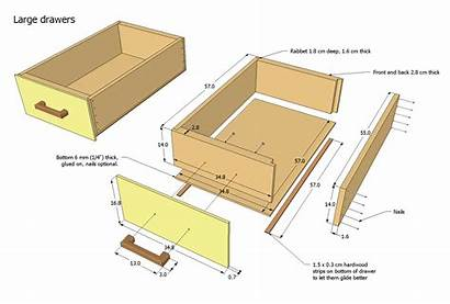 Drawer Plans Router Table Woodworking Handles Drawers