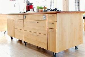 Kucheninsel auf rollen for Kücheninsel auf rollen
