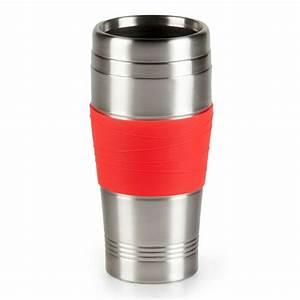 Coffee To Go Becher Thermo : kaffee becher 400ml rot tee coffee to go cup thermo edelstahl trinkdeckel neu ebay ~ Orissabook.com Haus und Dekorationen