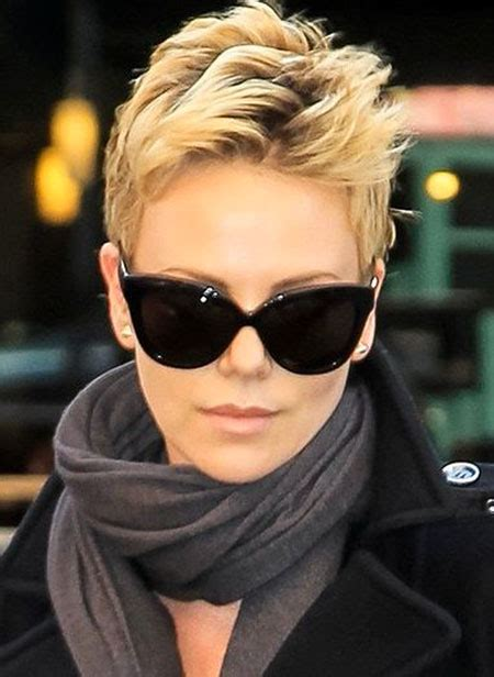 charlize theron short hair short hairstyles
