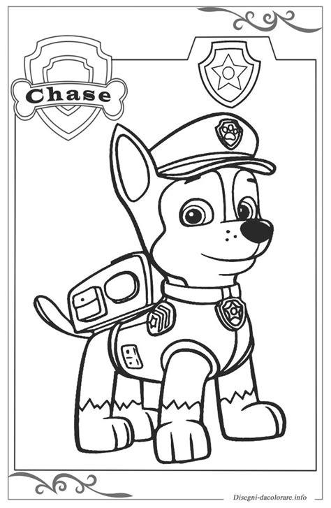 disegni da colorare paw patrol paw patrol pagine da colorare per bambini gratis
