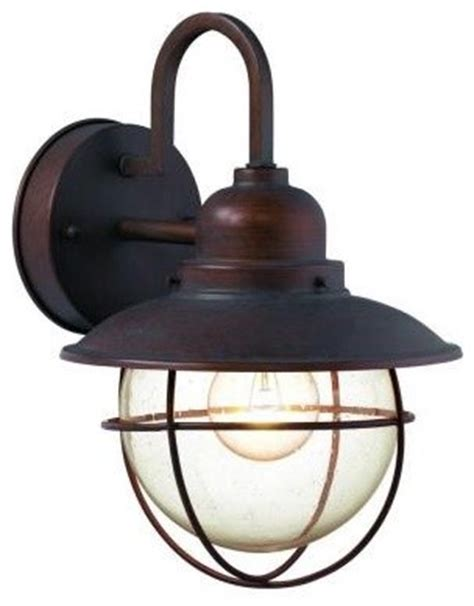 hton bay wall outdoor lantern traditional