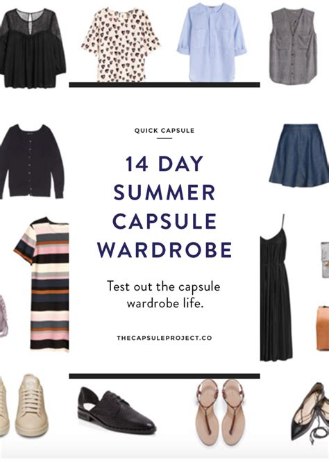 days  summer  images summer capsule wardrobe