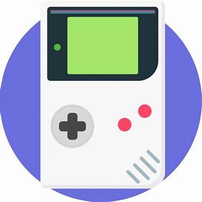 Gameboy Icon Retro Nintendo Transparent Handheld Games