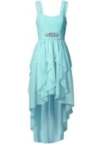 bridesmaid robes robe chic et originale avec pierres fantaisie scintillantes bleu pastel