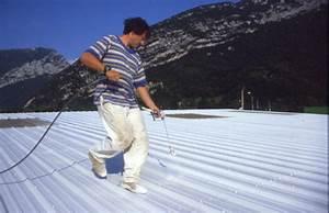 Peinture Pour Toiture : peinture de toit couverture en toles noxidation de toiture ~ Melissatoandfro.com Idées de Décoration