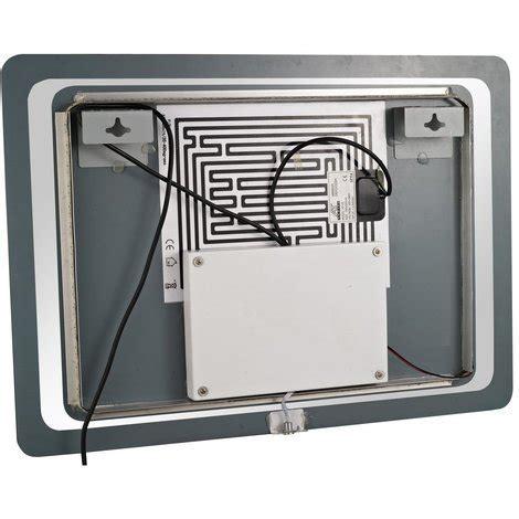 infrarouge salle de bain miroir lumineux led de salle de bain capteur infrarouge antibu 233 50 x 70 x 3 5cm 17 salle